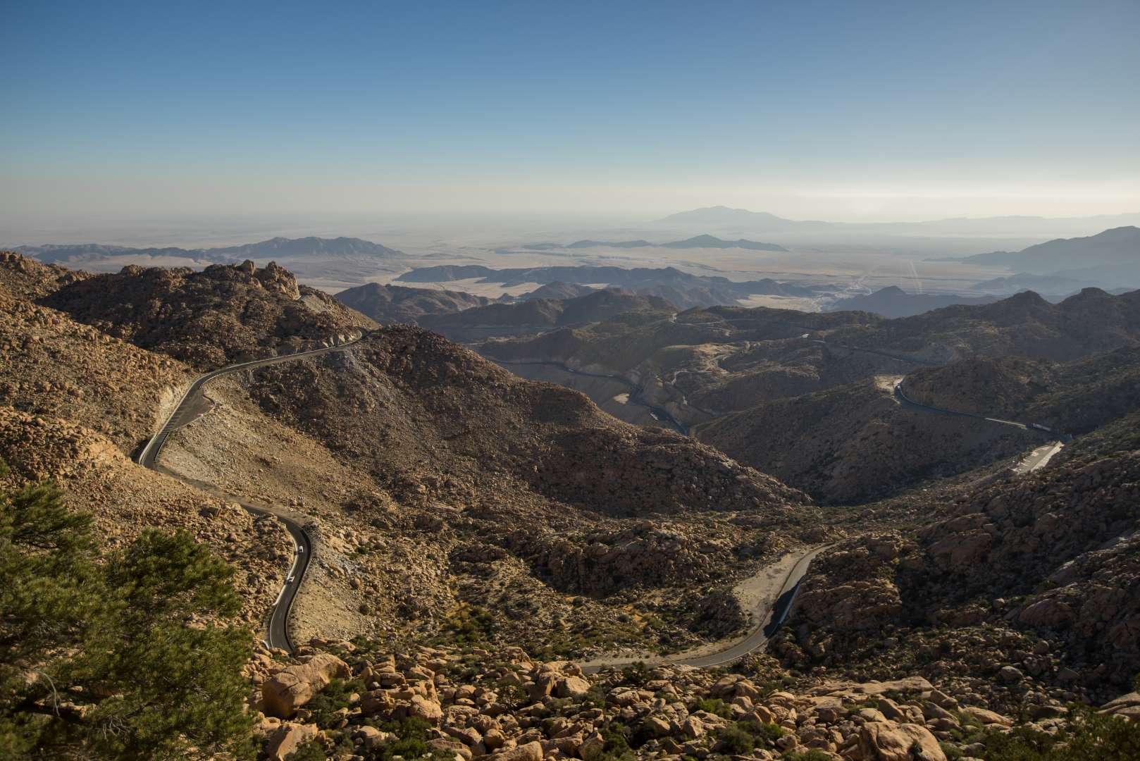 La Rumorosa, Rappel in Baja California