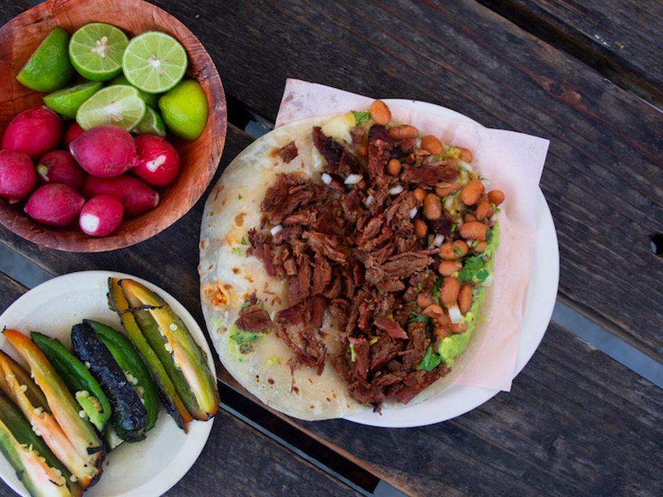 Tacos Yaqui in Rosarito Baja California