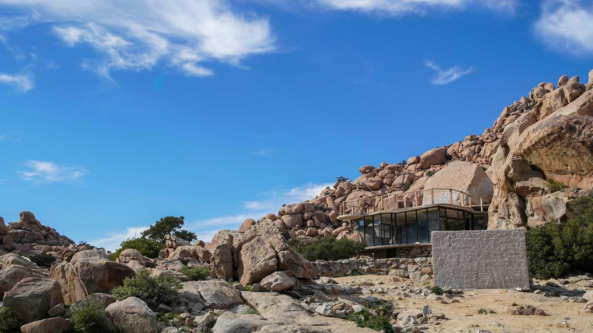 Baja California Rumorosa Casa de Piedra