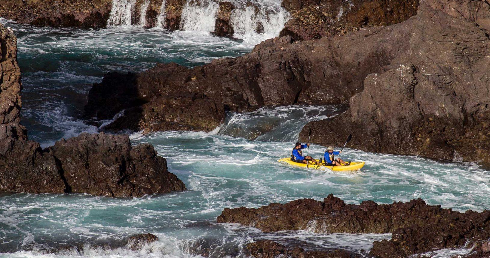 Ensenada Baja California Kayaking