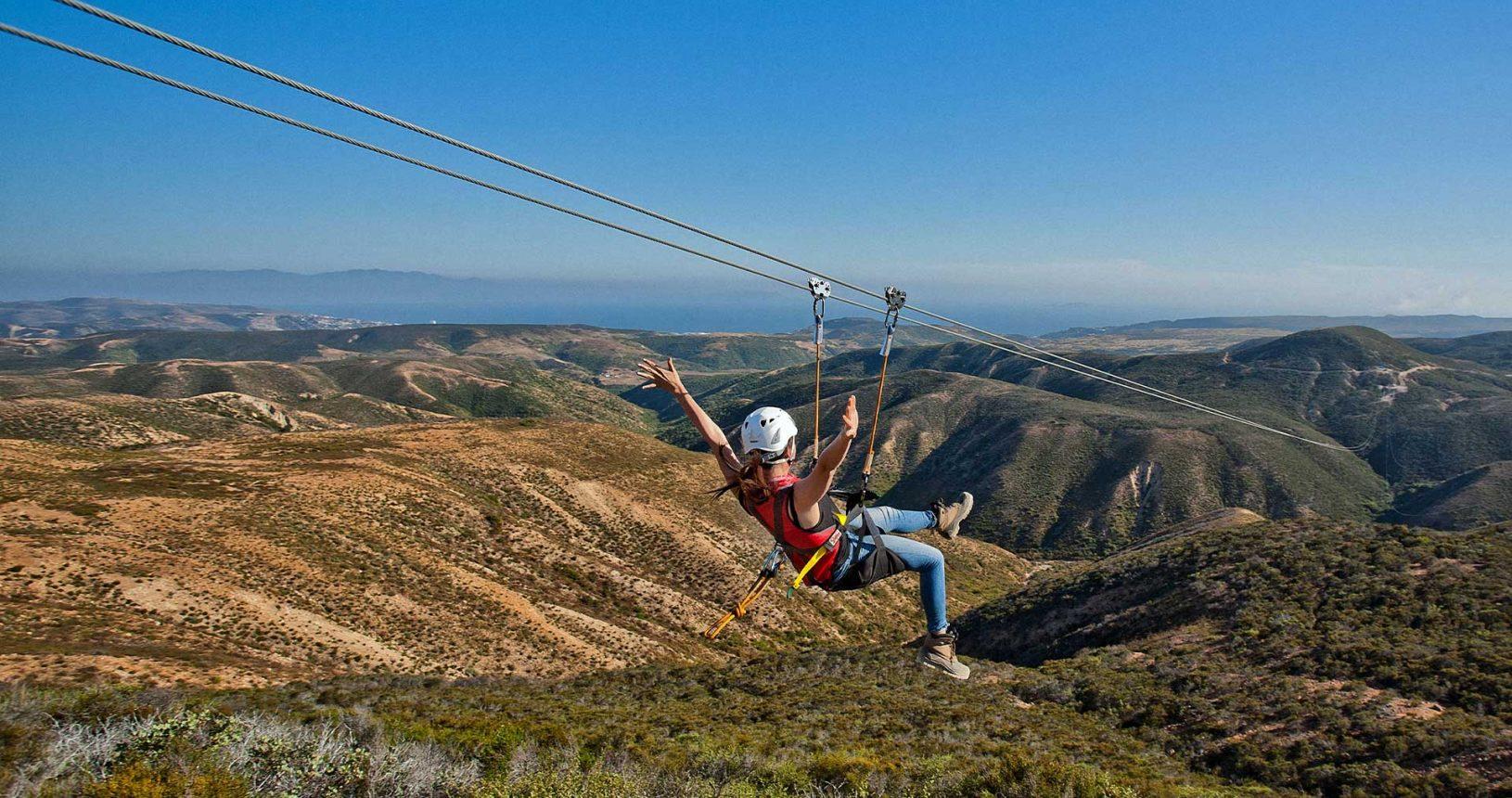 Ensenada Baja California Ziplines