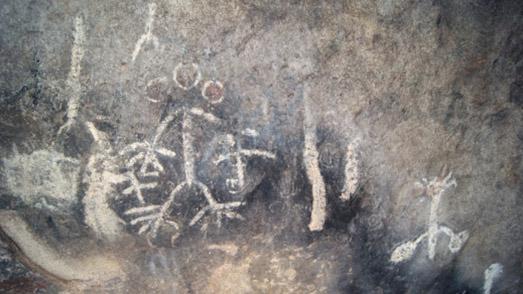 El Vallecito Rock Paintings