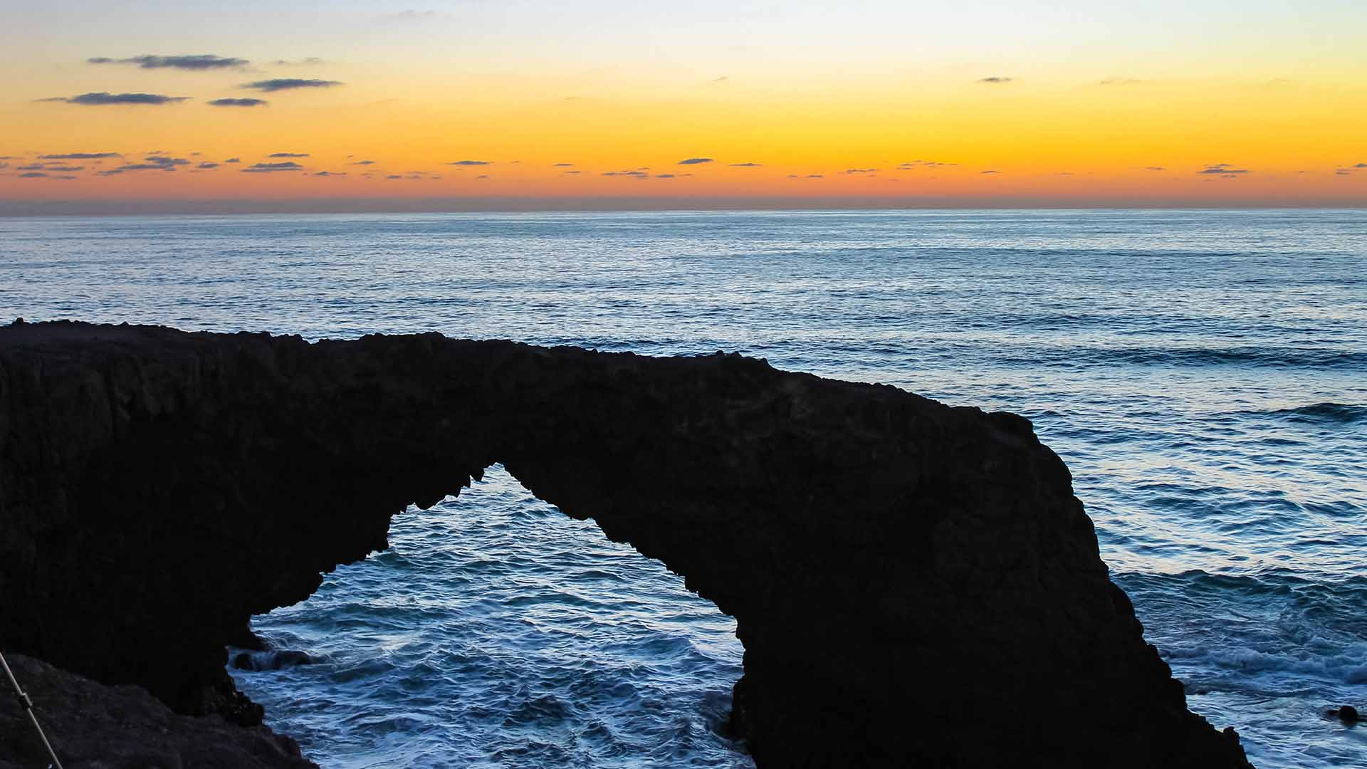 Stunning Sunsets at the Rosarito Beach Arch