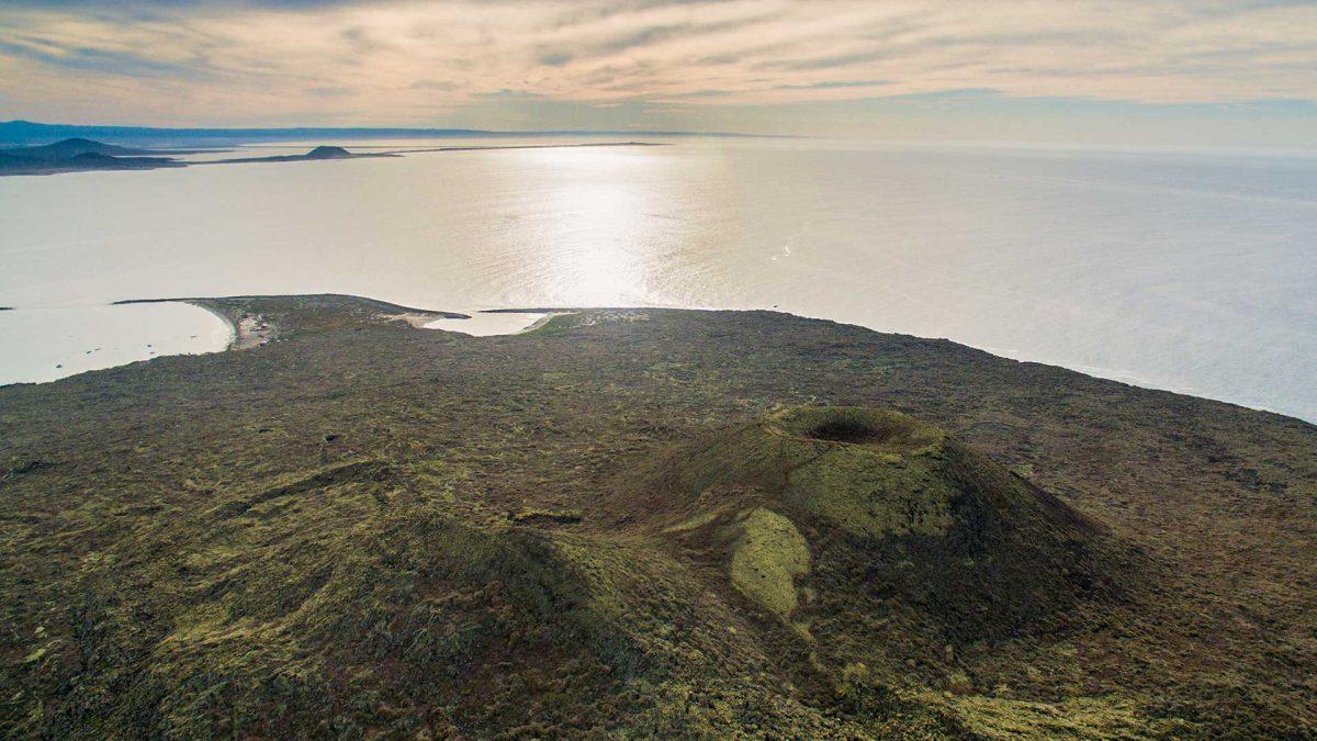 San Quintin Baja California Volcano