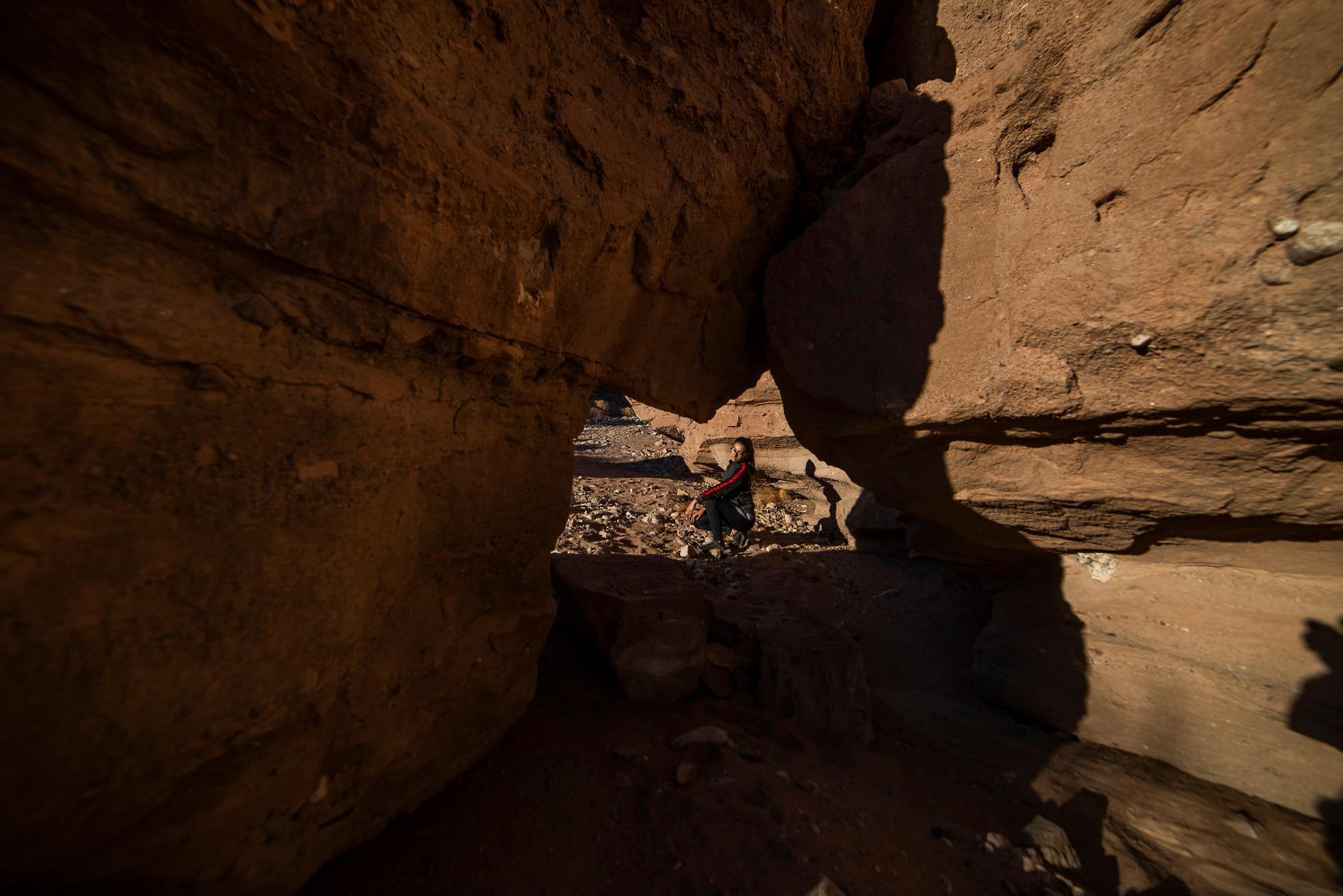 Baja California Mexicali Ciempies Hiking Trail