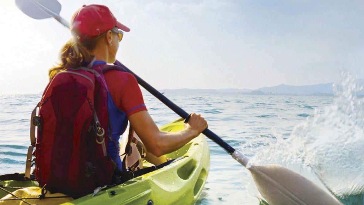 Kayaking,, Baja California