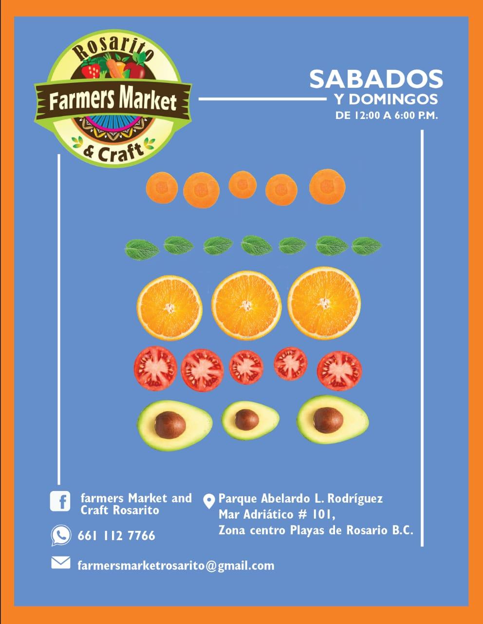 Farmers Market Rosarito